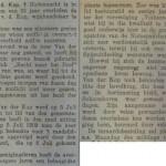 Artikel overlijden WC van der Kop Schoonhovense Courant 22-08-1924