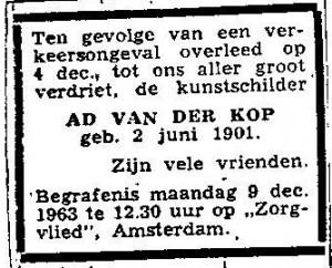 Willem Carel van der Kop (10)
